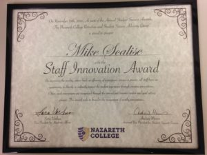 Staff Innovation Award